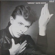 LP - David Bowie - Heroes - LIME GREEN RCA UK