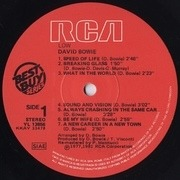LP - David Bowie - Low