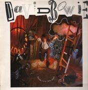 LP - David Bowie - Never Let Me Down - UK