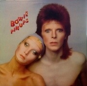 LP - David Bowie - Pinups - orange labels, no Stereo