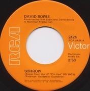 7'' - David Bowie - Sorrow / Amsterdam