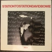 LP - David Bowie - Station To Station - Orange labels