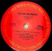 LP - David Gilmour - David Gilmour