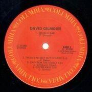 LP - David Gilmour - David Gilmour - Gatefold