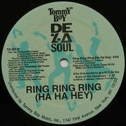 12inch Vinyl Single - De La Soul - Ring Ring Ring (Ha Ha Hey) - Label Sleeve