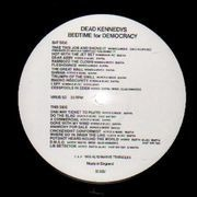 LP - Dead Kennedys - Bedtime For Democracy - with the newspaper Fuck Facts issue