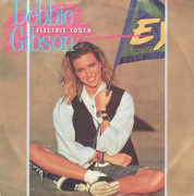 7inch Vinyl Single - Debbie Gibson - Electric Youth - Big Hole Centre
