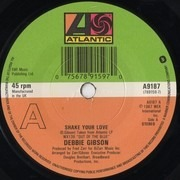 7inch Vinyl Single - Debbie Gibson - Shake Your Love