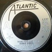 7'' - Debbie Gibson - Shake Your Love