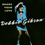 7'' - Debbie Gibson - Shake Your Love - Silver injection moulded labels