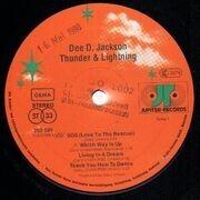LP - Dee D. Jackson - Thunder & Lightning - cosmic space disco