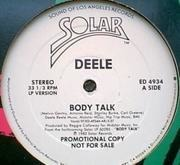 12'' - Deele, The Deele - Body Talk