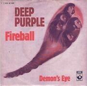 7'' - Deep Purple - Fireball / Demon's Eye - picture sleeve