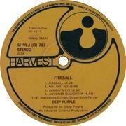 LP - Deep Purple - Fireball - South Africa