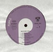 LP - Deep Purple - Machine Head - + POSTER, WHITE HÖRZU