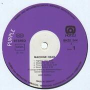 LP - Deep Purple - Machine Head - WHITE HÖRZU