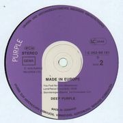 LP - Deep Purple - Made In Europe