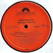 Double LP - Deep Purple - Nobody's Perfect