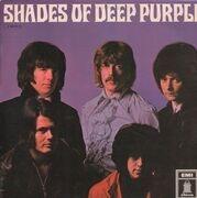 LP - Deep Purple - Shades Of Deep Purple - BLUE ODEON, elliptic stereo