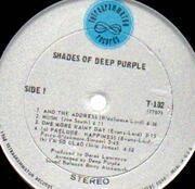 LP - Deep Purple - Shades Of Deep Purple - US Original