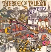 LP - Deep Purple - The Book Of Taliesyn - Original 1st UK, 'Sold In UK' Text