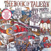 LP - Deep Purple - Book Of Taliesyn - STILL SEALED! Limited Edition Colored Vinyl
