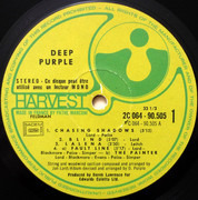 LP - Deep Purple - Deep Purple - France