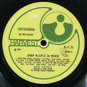 LP - Deep Purple - In Rock - Italy