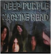 LP - Deep Purple - Machine Head - UK 1st Press A1U B1U + LYRIC POSTER