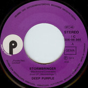 7inch Vinyl Single - Deep Purple - Stormbringer
