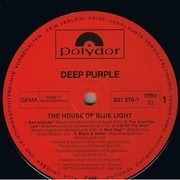 LP - Deep Purple - The House Of Blue Light