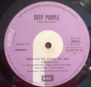 LP - Deep Purple - Who Do We Think We Are - Gatefold