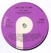 LP - Deep Purple - Come Taste The Band - Original UK