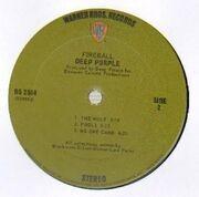 LP - Deep Purple - Fireball