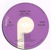 LP - Deep Purple - Machine Head - UK 1st Press