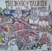 LP - Deep Purple - The Book Of Taliesyn - circle on sleeve and labels