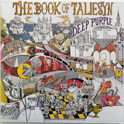 LP - Deep Purple - The Book Of Taliesyn - Fame issue, Gatefold