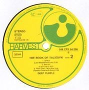 LP - Deep Purple - The Book Of Taliesyn - HARVEST LABELS