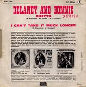 7inch Vinyl Single - Delaney & Bonnie - Ghetto