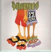12'' - De La Soul - A Roller Skating Jam Named 'Saturdays' - rare white label promo