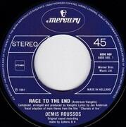 7inch Vinyl Single - Demis Roussos - Race To The End