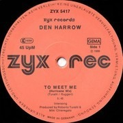 12inch Vinyl Single - Den Harrow / The Hurricanes - To Meet Me (Hurricane Hit Mix) / Tropical Nights