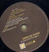 LP - Depeche Mode - Construction Time Again - HEAVY VINYL