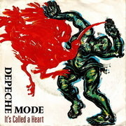 7'' - Depeche Mode - It's Called A Heart / Fly On The Windscreen