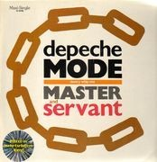 12inch Vinyl Single - Depeche Mode - Master And Servant (Slavery Whip Mix) - grey marbled vinyl