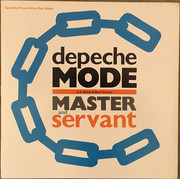 12inch Vinyl Single - Depeche Mode - Master And Servant (U.S. Black & Blue Version)