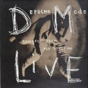 LP - Depeche Mode - Songs Of Faith And Devotion Live - Original