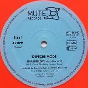 12'' - Depeche Mode - Strangelove - orange vinyl