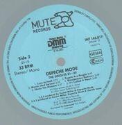LP - Depeche Mode - The Singles 81 - 85 - grey vinyl+picture insert