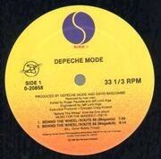 12inch Vinyl Single - Depeche Mode - Behind The Wheel / Route 66 (Megamix)